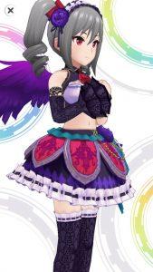 薔薇の闇姫 - 神崎蘭子 - 3D 衣装