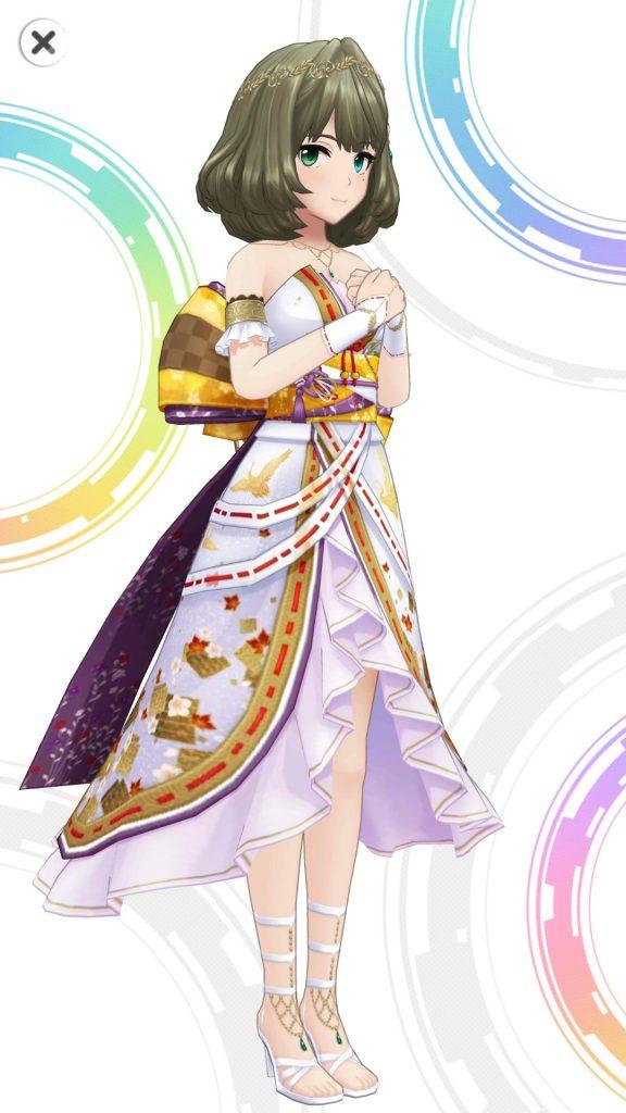 茜色の彩り - 高垣楓 - 3D 衣装