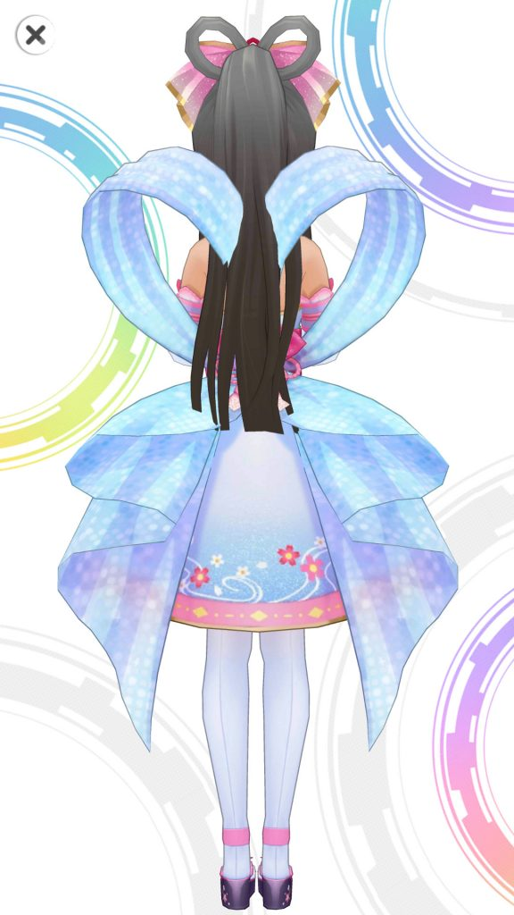 花舞うまほろば -  小早川紗枝 - 3D 衣装