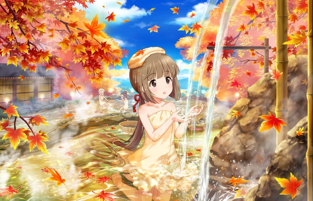 湯浴みの踊子 - 依田芳乃