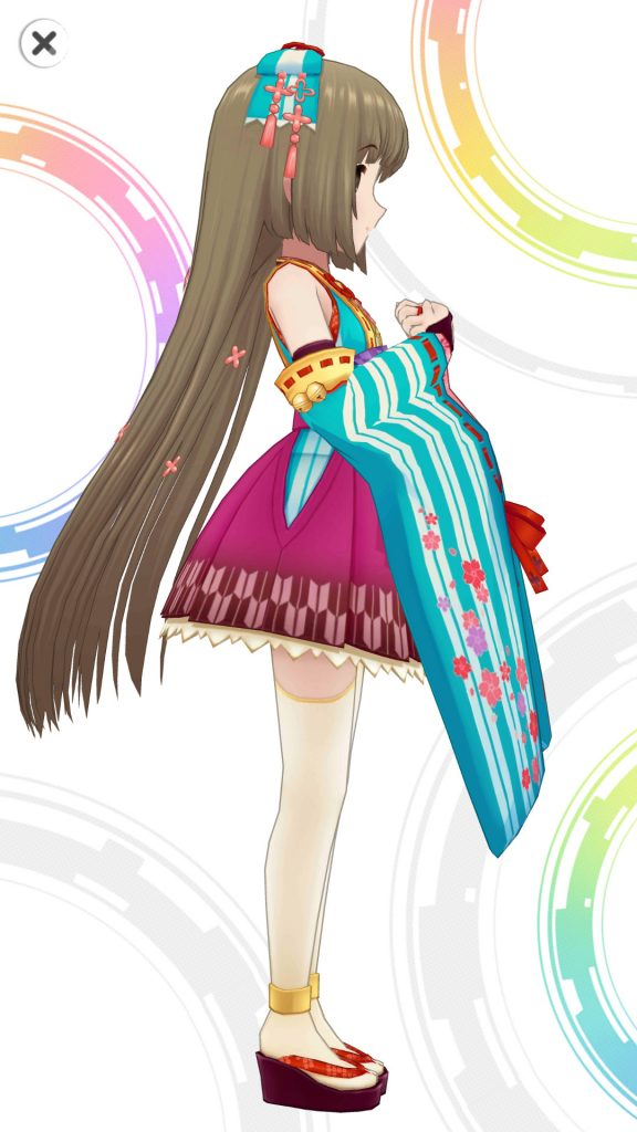 わだつみの導き手 - 依田芳乃 - 3D 衣装