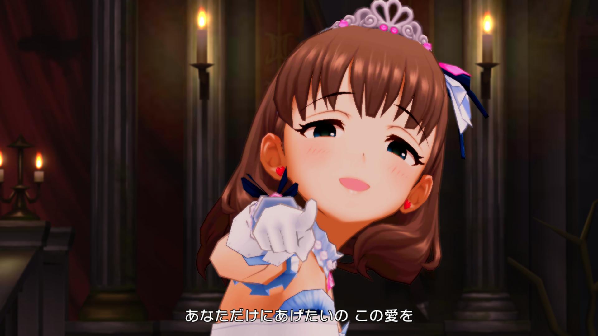 佐久間まゆ - Love∞Destiny - 旧3Dモデル スクショ