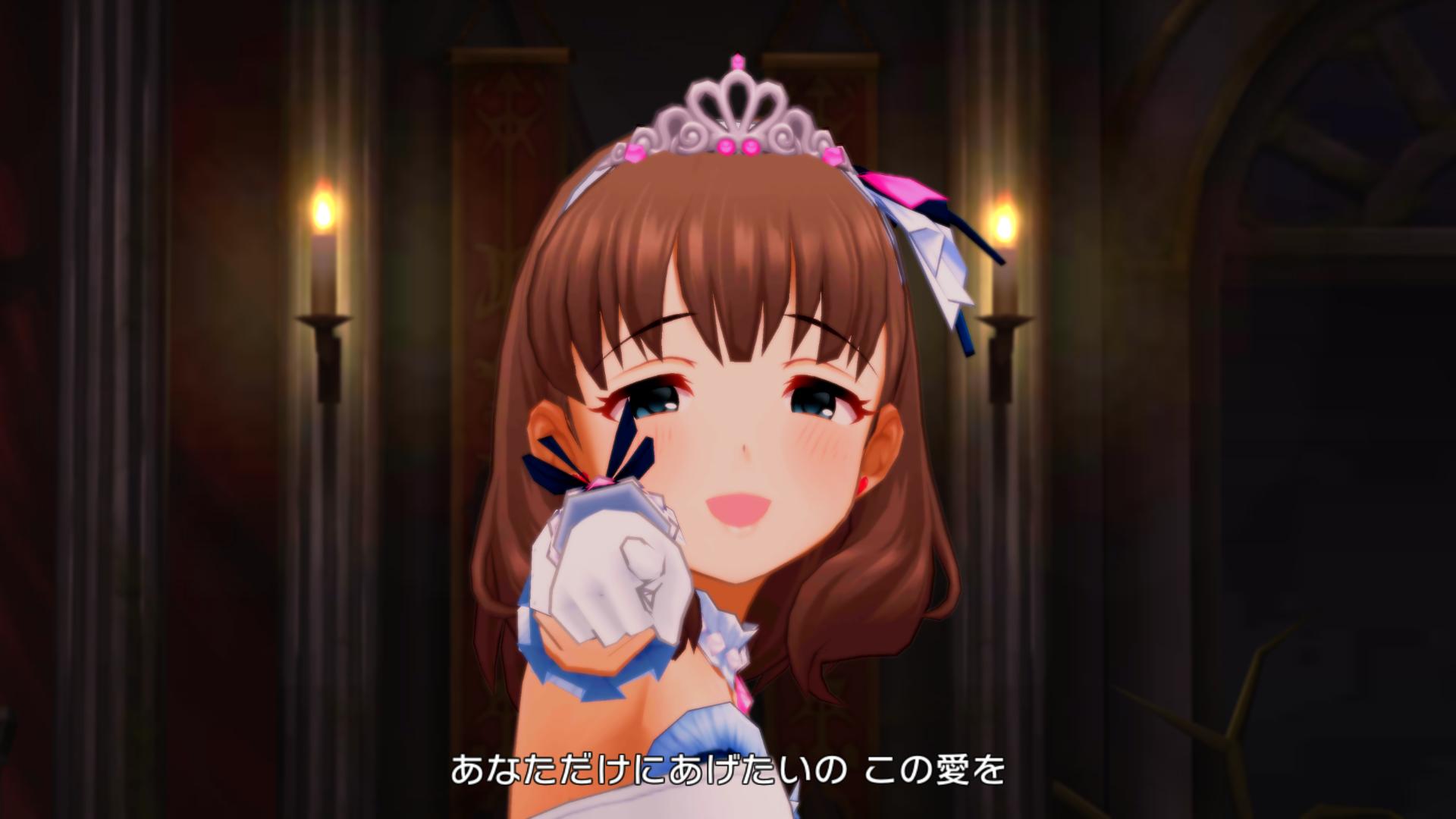 佐久間まゆ - Love∞Destiny - 新3Dモデル スクショ