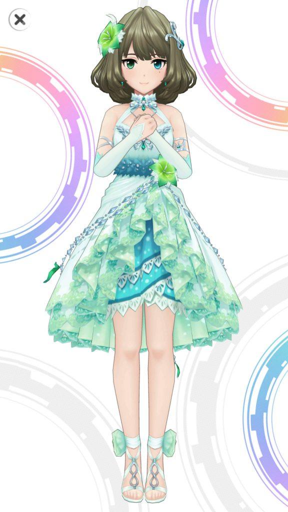 夜風の誘い - 高垣楓 - 3D 衣装