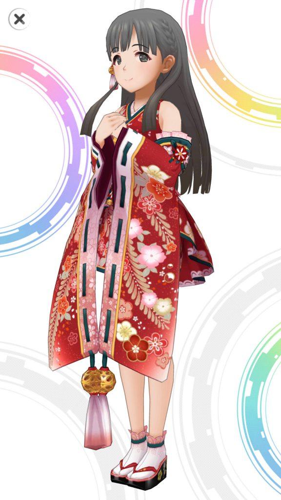 華ほころびる宴 - 小早川紗枝 - 3D 衣装