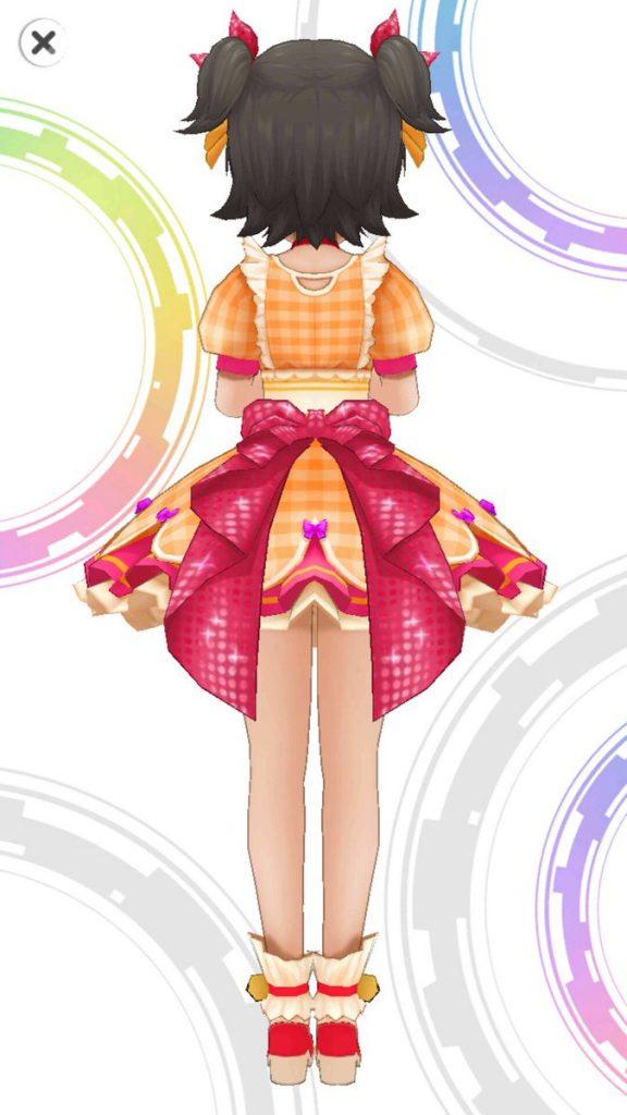 ハッピーホイップ - 赤城みりあ - 3D 衣装