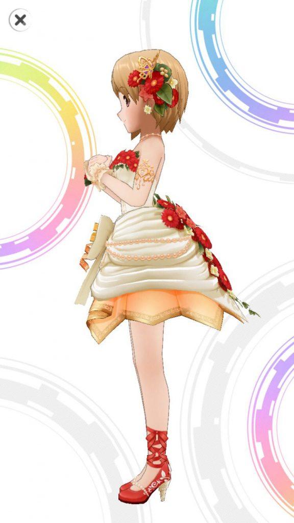 重ねた花びら - 相葉夕美 -3D 衣装