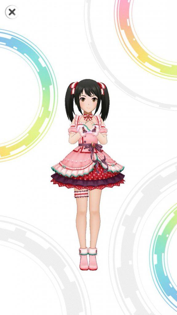 ラブ!ストレート - 中野有香 - 3D 衣装