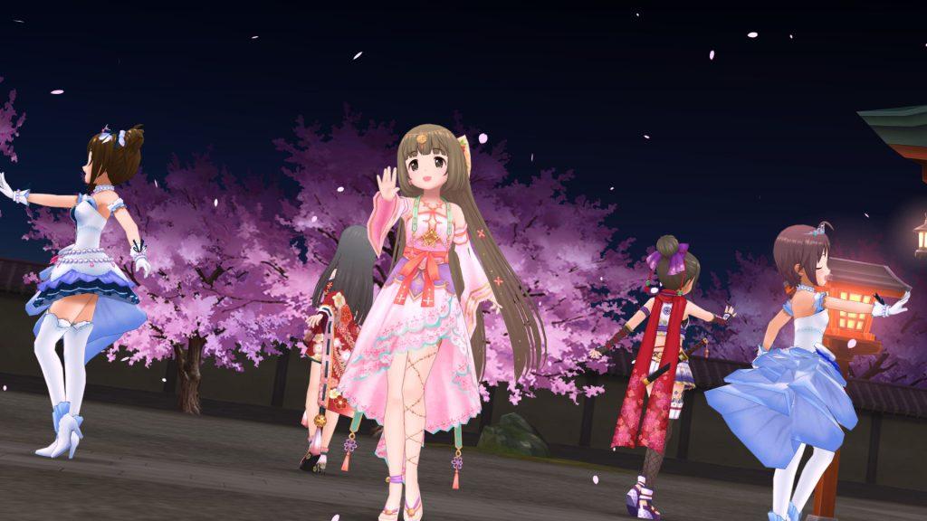 桜の頃 - ことほぎの祈り 依田芳乃 - スクショ