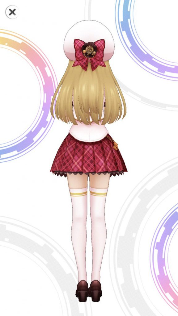 サークル☆オブ☆フレンズ - 城ヶ崎莉嘉 - 3D 衣装