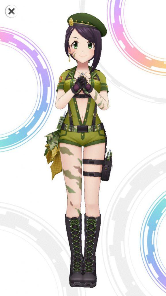 コマンドー・オブ・ステージ - 大和亜季 - 3D 衣装