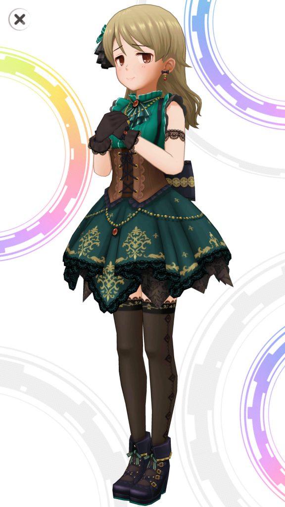 ギフト・フォー・アンサー - 森久保乃々 - 3D 衣装